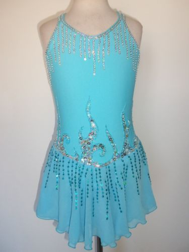 CUSTOM-MADE-ICE-SKATING-BATON-TWIRLING-DRESS