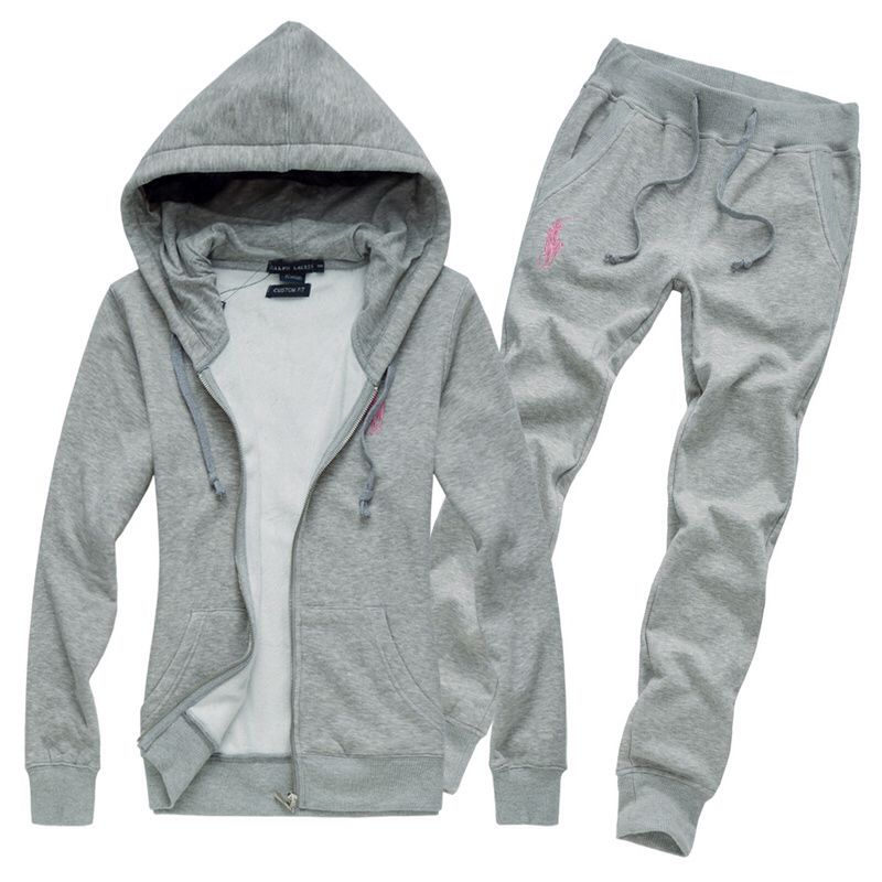d7f8f77f917e4 Women's Grey Polo Sweat Suit / Fashion 4 Days | kerris | Polo ralph ...
