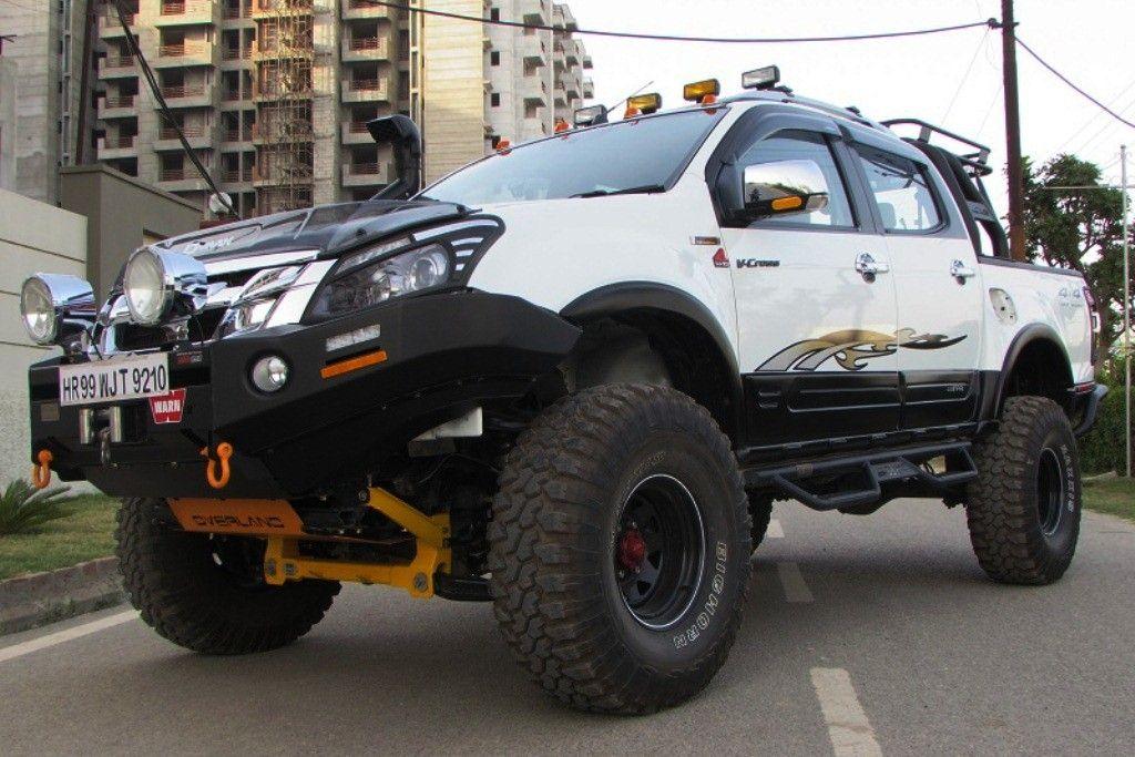 Isuzu D Max V Cross Modified Monster Truck By Off