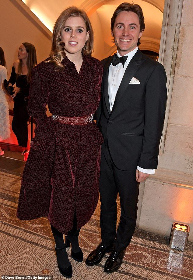Princess Beatrice first royal appearance with boyfriend