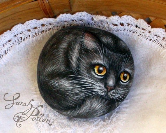 Cat and Kittens Painted Rocks Pebble Animals Hand Painted Stones Cat Rock Painting Pet Ro Cat and Kittens Painted Rocks Pebble Animals Hand Painted Stones Cat Rock Painti...