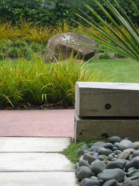 Garden design and landscape using new zealand native for Native garden designs nz