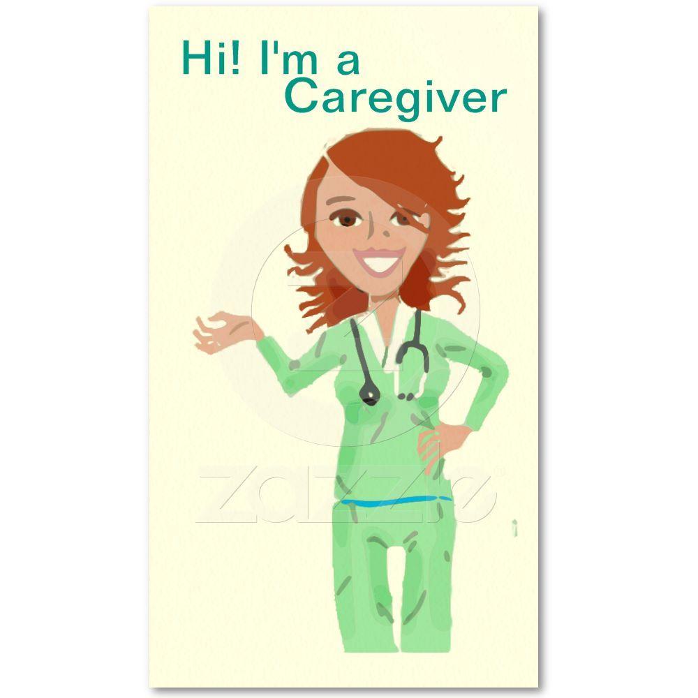 Caregiver Business Card template | Caregiver, Card templates and ...