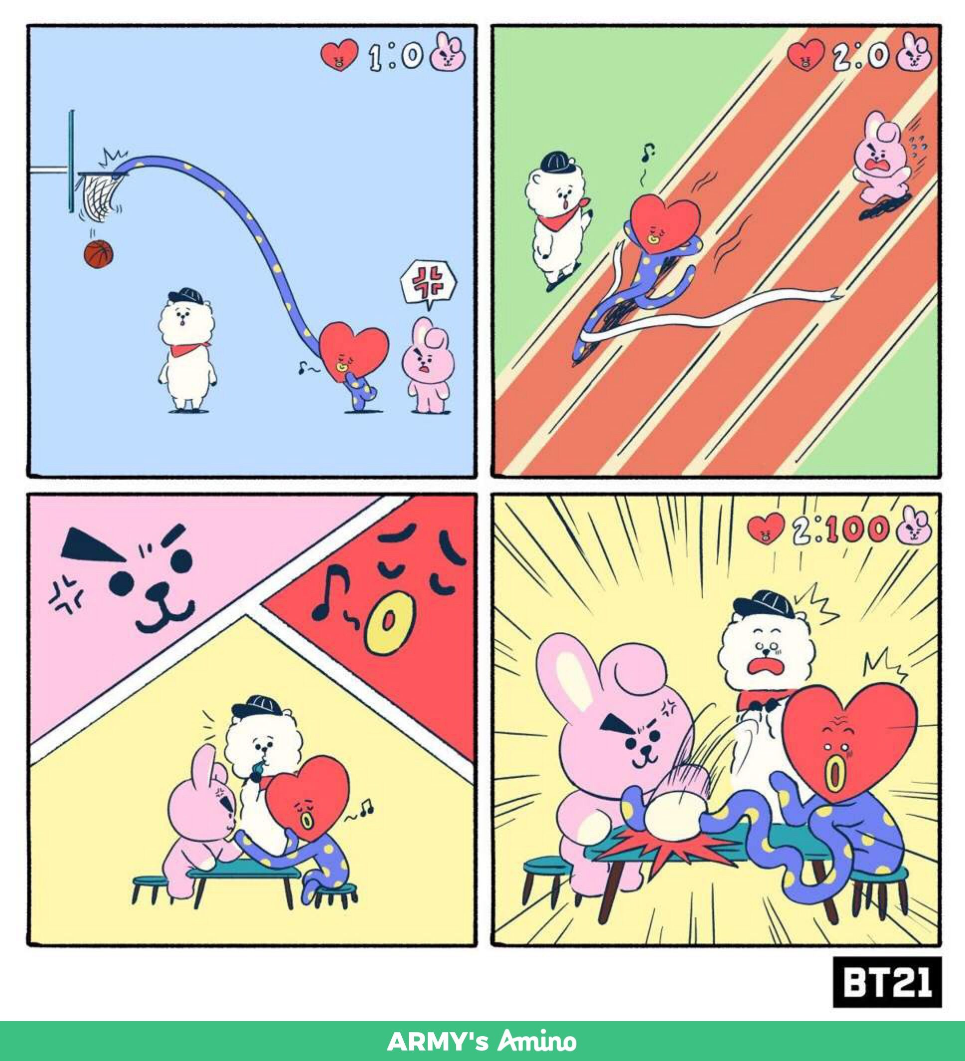 BT21 Updates March- Vlive, Twitter, LINE STORES | ARMY's Amino