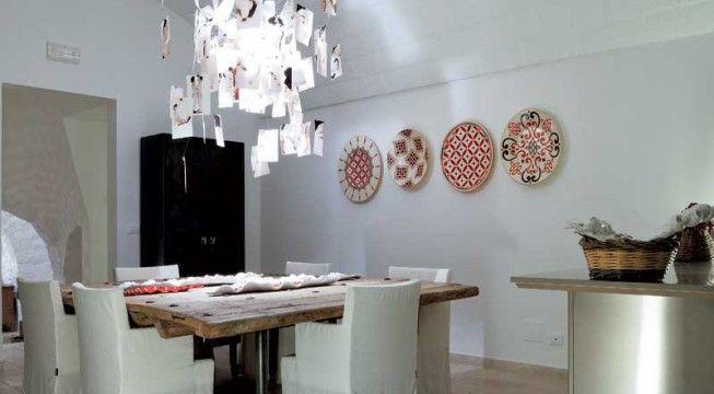 Handpainted ceramics of enza fasano lifestyle puglia pinterest home decor hand painted - Illuminazione cucina moderna ...