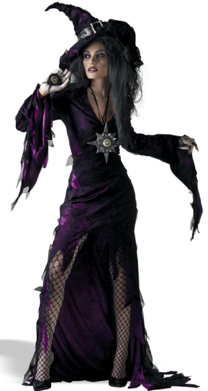 Sorceress Sexy Witch Costume - Mr. Costumes | Halloween ...