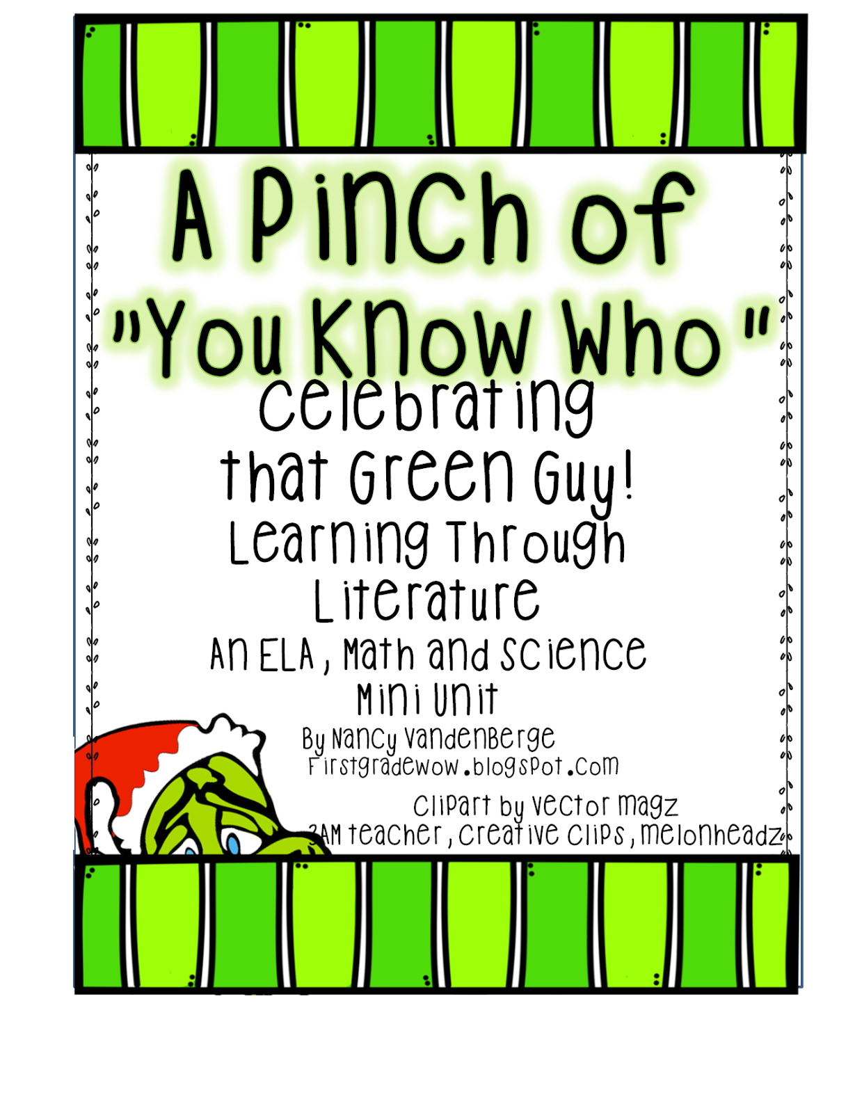 First Grade WOW- 4 FREE units- The Grinch, Santa\'s Stuck, If You ...