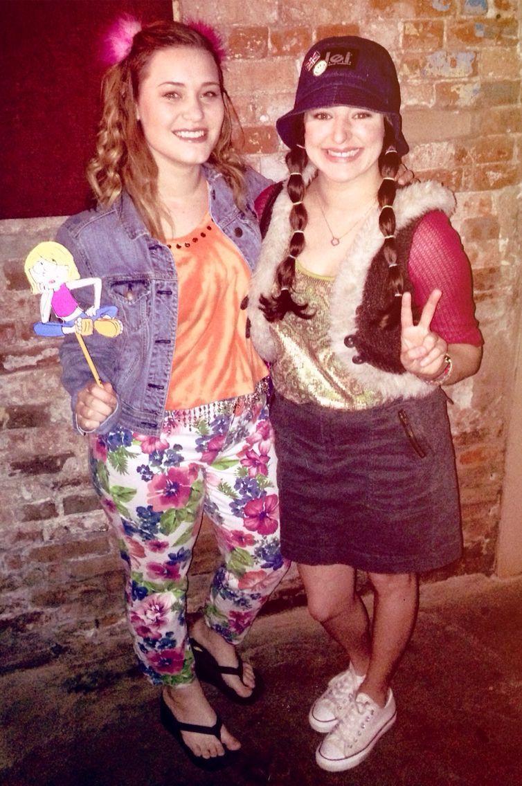Lizzie McGuire and Miranda Sanchez from Disney Channel's
