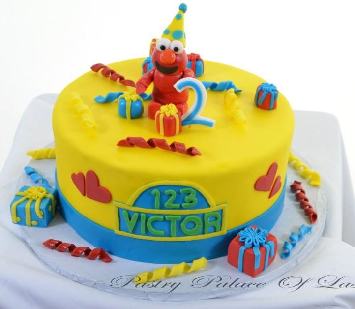 Pastry Palace Las Vegas Kids Cake 1066 Elmos Party Kids