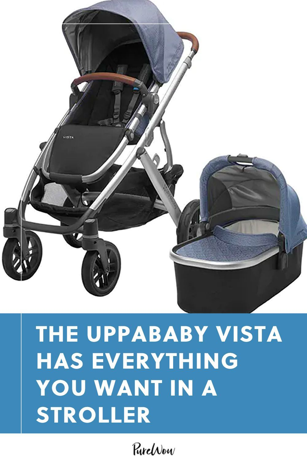 The UPPAbaby VISTA Has Everything You Want in a Stroller