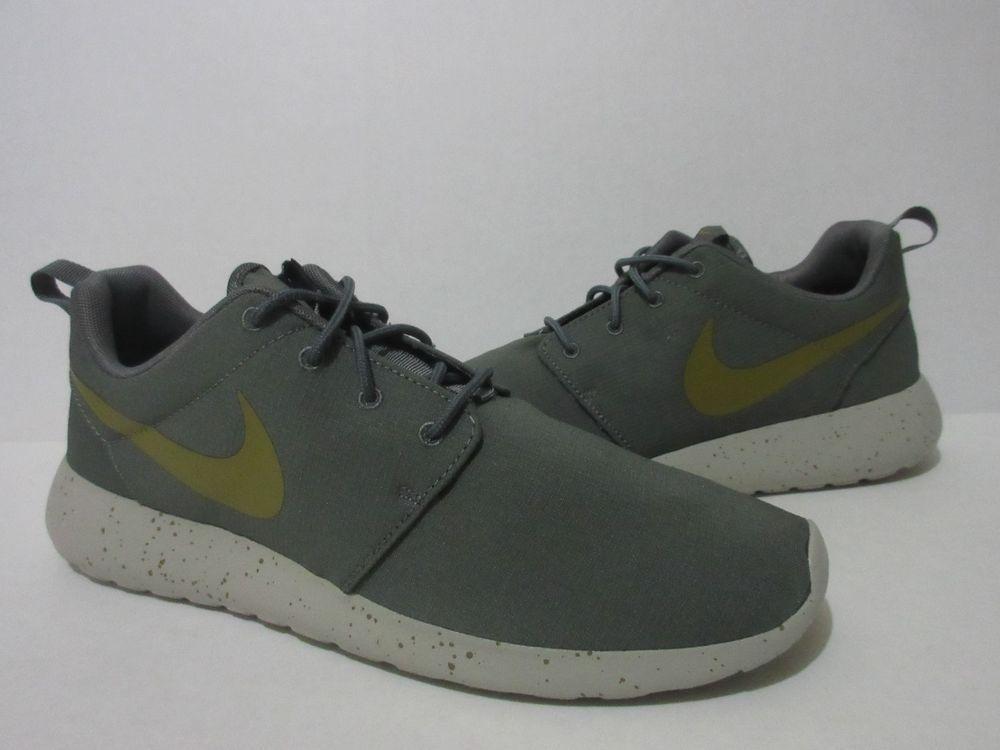 56b59df5d535 NIKE ROSHE ONE SE Mens Sz.11 River Rock Dessert 844687 008  Nike   RunningShoes
