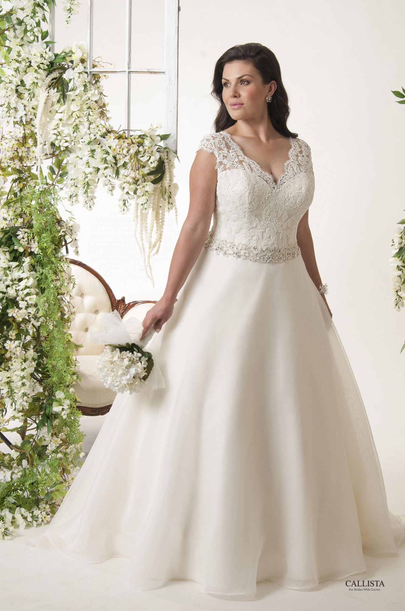 Wedding Dresses for Chubby Brides - Wedding Dresses for Plus Size ...