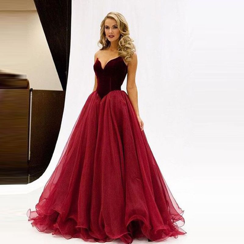 Red dress evening wear images