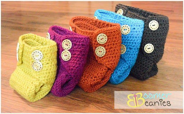 crochet libre de la cubierta del pañal patrón | La pieza del Bebé ...
