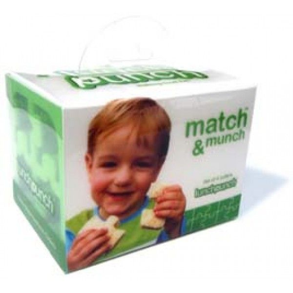 Lunch Punch Match and Munch Puzzle Set