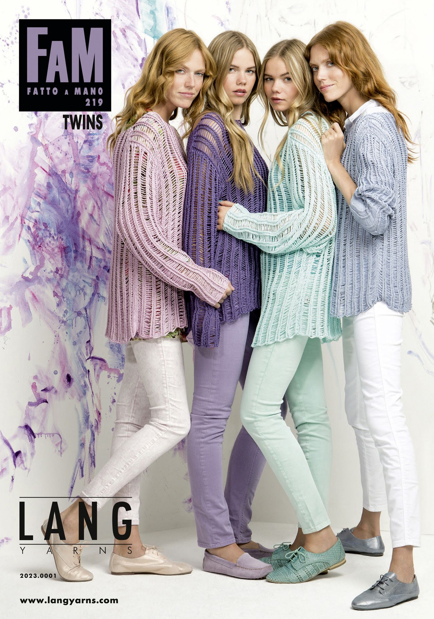 LANGYARNS FATTO A MANO 219 - TWINS