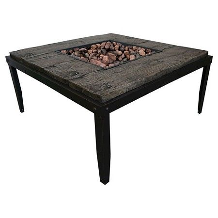 Bond Tiburon Fire Table - Brown : Target