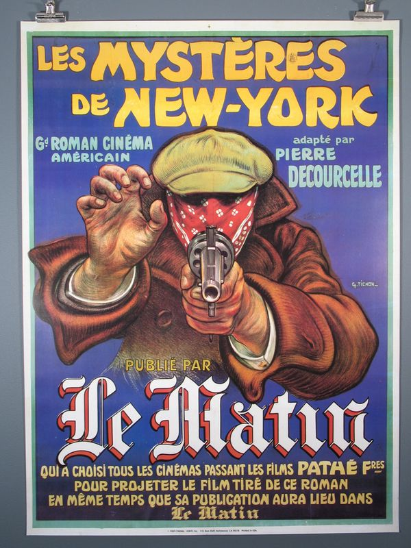 Les Mysteres De New York The Mysteries Of New York Friends Poster New York Poster French Poster