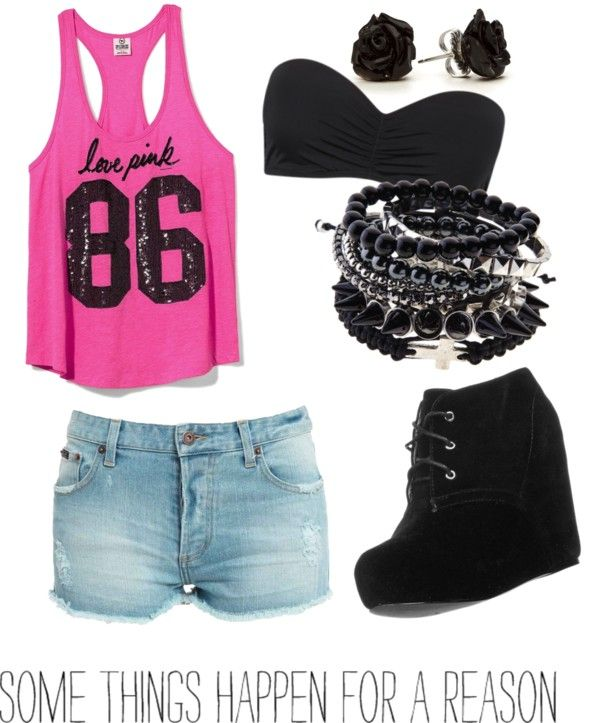 """""""Some things happen..."""" by lifeisokay13 ❤ liked on Polyvore"""