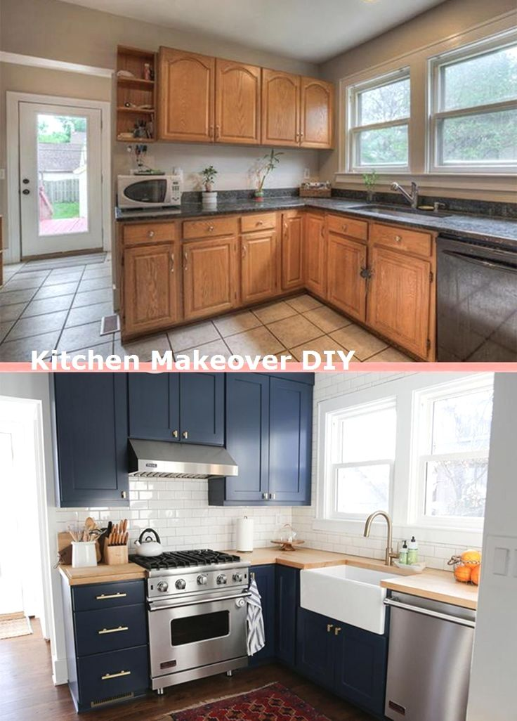 New And Cheap Kitchen Makeover Diy Ideas On A Budget Kitchens