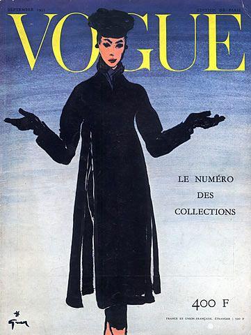 Christian Dior 1955 René Gruau, Cover
