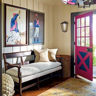 Gorgeous color. Steven Gambrel designer, Eric Piasecki photograper. Southern Living.