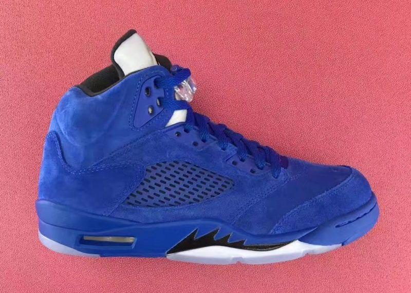 low priced ec0a1 f0598 ... shop air jordan 5 blue suede release date 068ea bd8c0