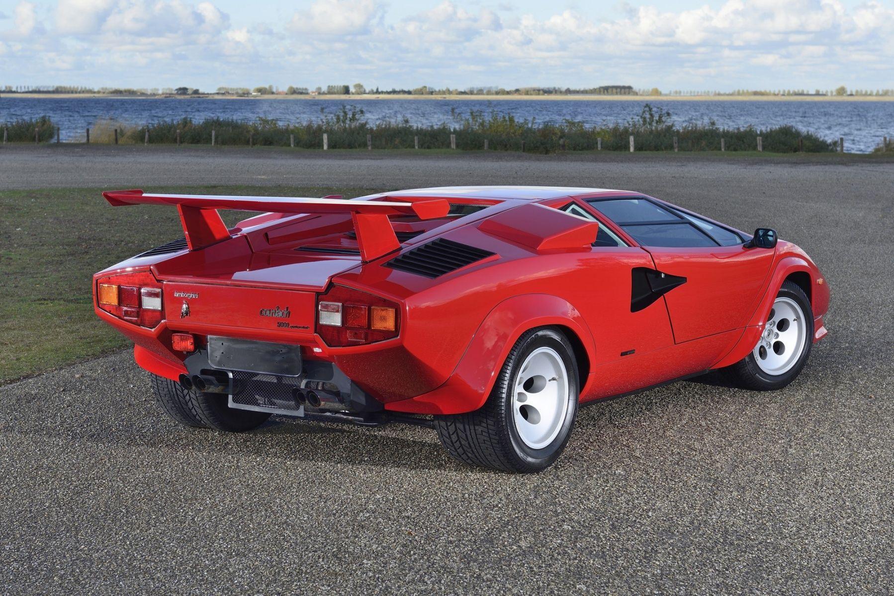1986 countach 5000 qv classic driver