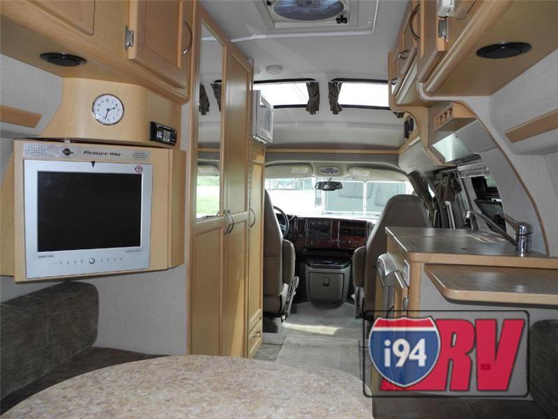 Used 2006 Pleasure Way Chevrolet Lexor Td Class B Motorhome Rv