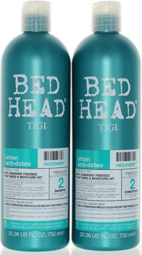 Introducing Tigi Bed Head Urban Antidote Recovery Shampoo Conditioner Duo Damage Good Shampoo And Conditioner Shampoo For Damaged Hair Shampoo And Conditioner