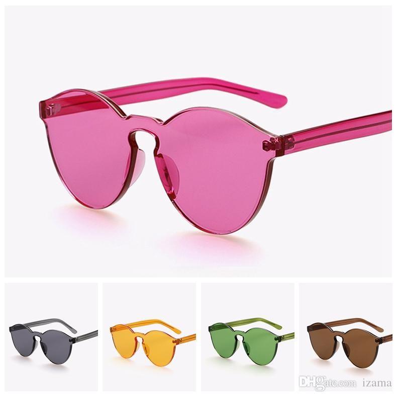 6a78a2c20734b Jelly Color Fashion Brand Sunglasses House of Holland X Linda Farrow Vintage  Eyewear Women Vogue Glasses Oculos De Sol Masculino Feminino