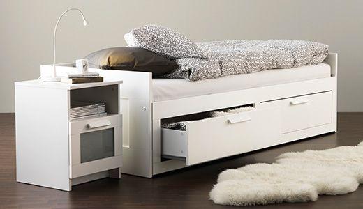 Bedbank En Logeerbed.Brimnes Bedbank Logeerbed Ikea Bed Bedbank En Ikea