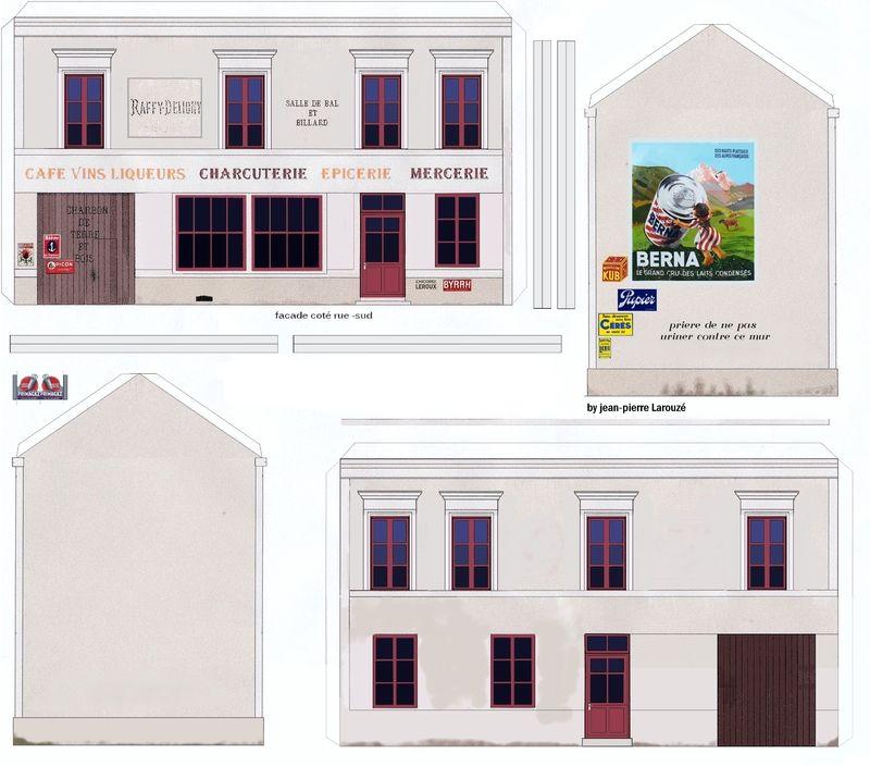 Le Petit Casino Decoupages Faciles Paper Houses Paper