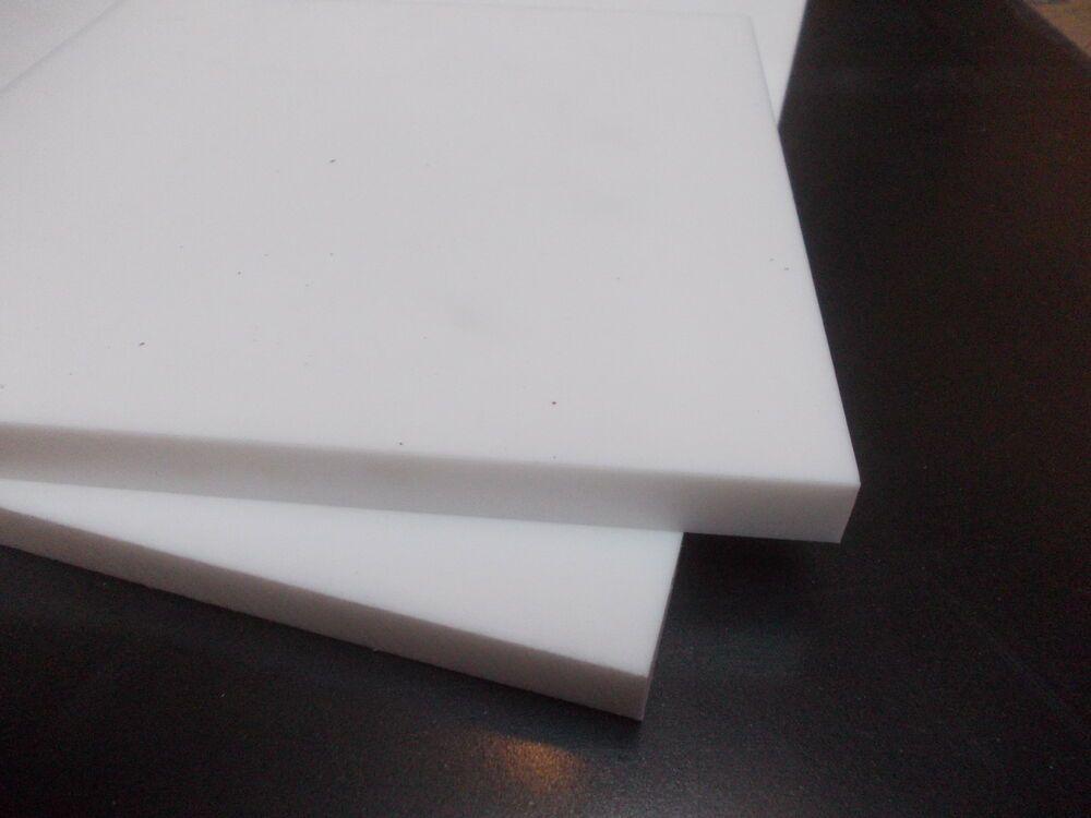 5 mm PTFE Feuille 200 mm x 200 mm haute température Téflon Engineering-Wear Bandes