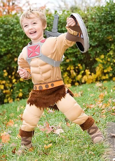 He Man muscle Costume for kids  | Halloween in 2019 | He man