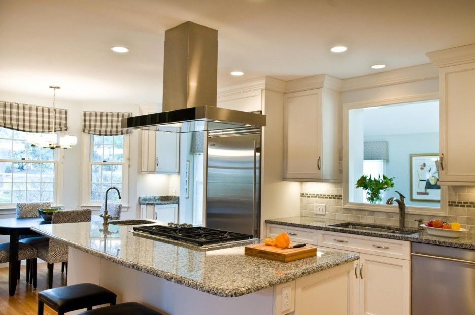 Kitchen Amazing Galley Kitchen Remodel Ideas Pictures With Grey Granite Seamless Kitc Small Kitchen Renovations Small Kitchen Decor Kitchen Renovation Design