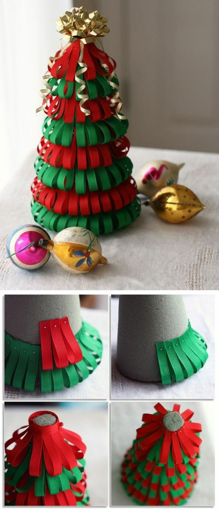 creation facile de decoration de noel - handball