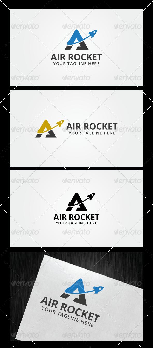 Air Rocket Logo Template   Rockets logo, Logo templates and Logo ...