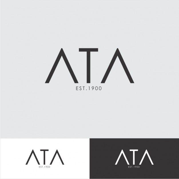 Minimalist logo template Free Vector | I D V :logotipo & símbolos ...