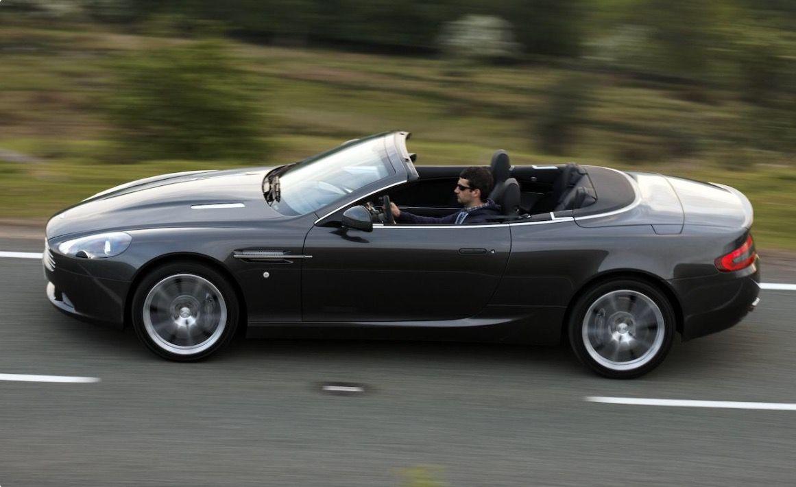 2016 Aston Martin DB9 convertible.