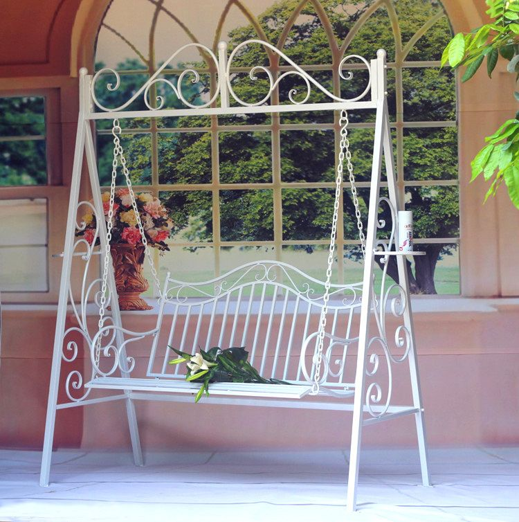 Cheap Patio Swings, Buy Directly from China Suppliers:LOFT American country to do the old retro furniture, solid wood dining chairs dining tables and chairs , wrought iron ba