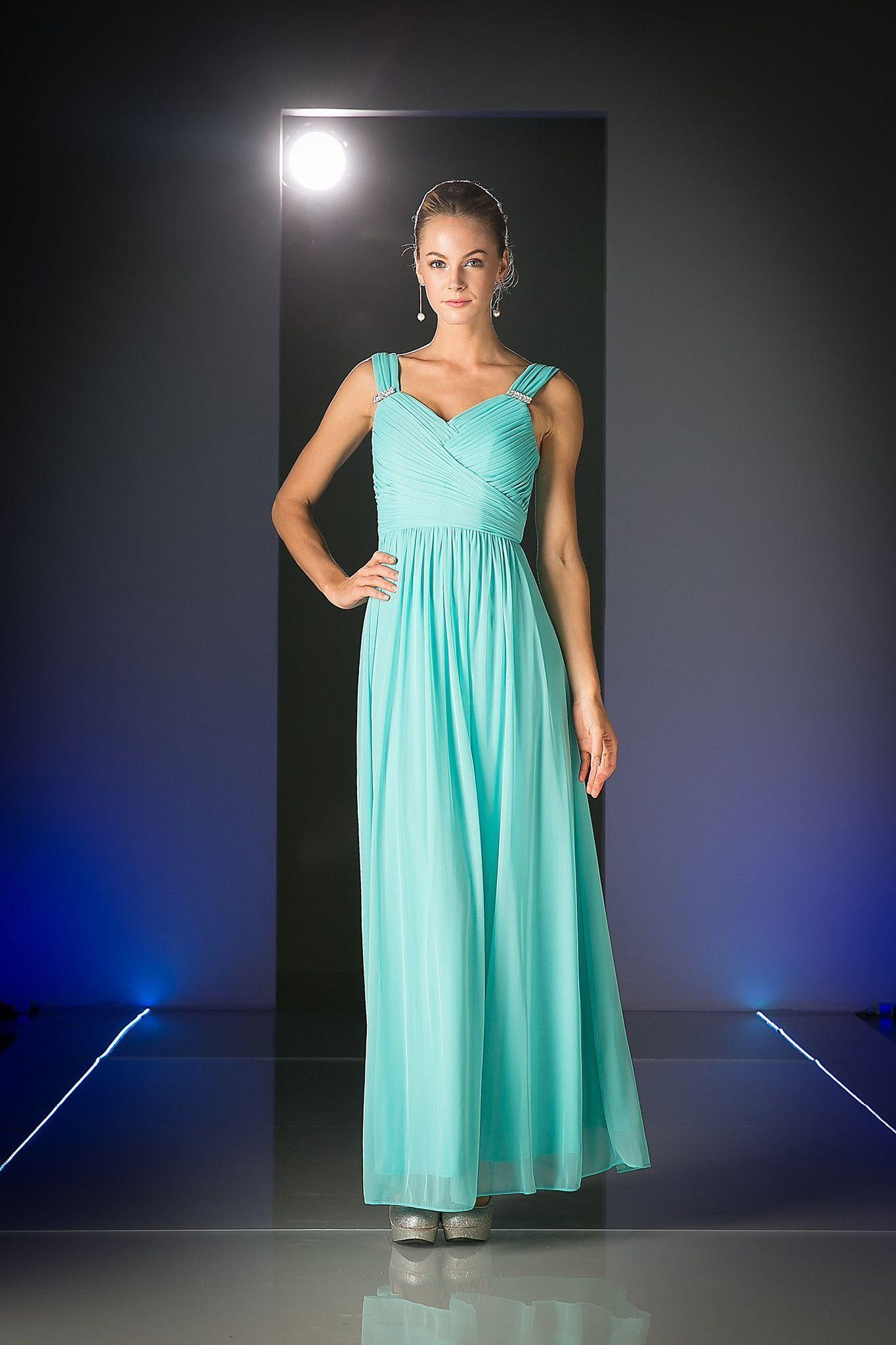 Simply Elegant Long Jade Bridesmaid Dress Formal   Products ...