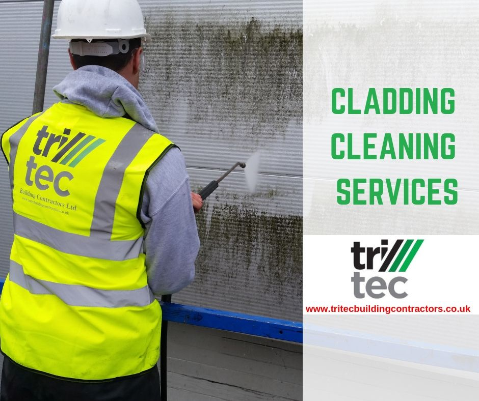 Cladding Cleaning Services Tritec Building Contractors