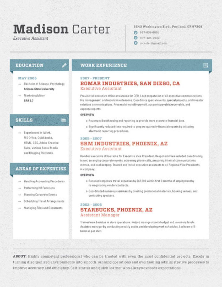 High quality custom resumecv templates resume design