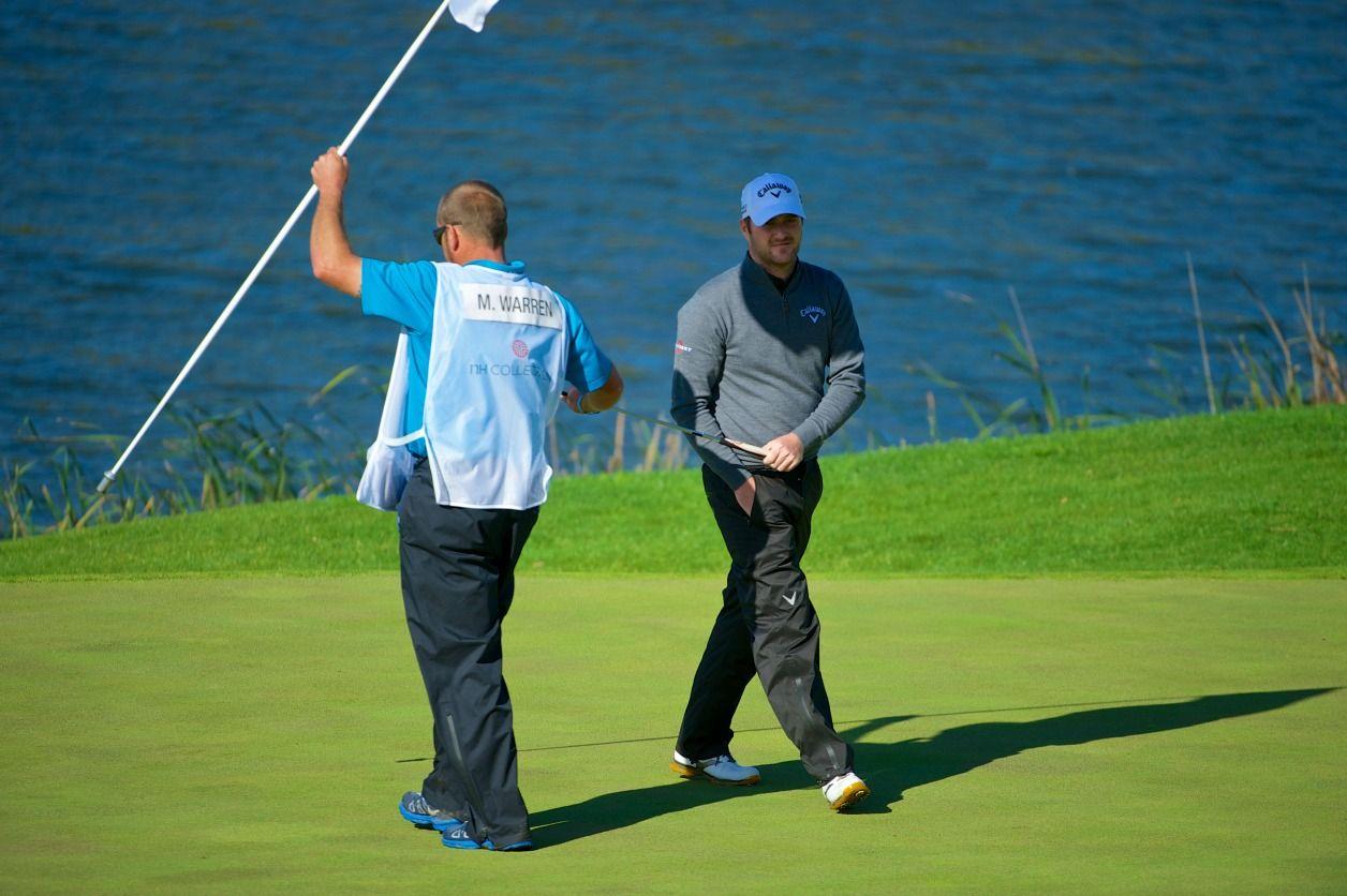 Marc Warren on La Reserva golf course, Friday 4th April, #NHCollectionOpen, #EuropeanTour, in Sotogrande. sotogrande.com/