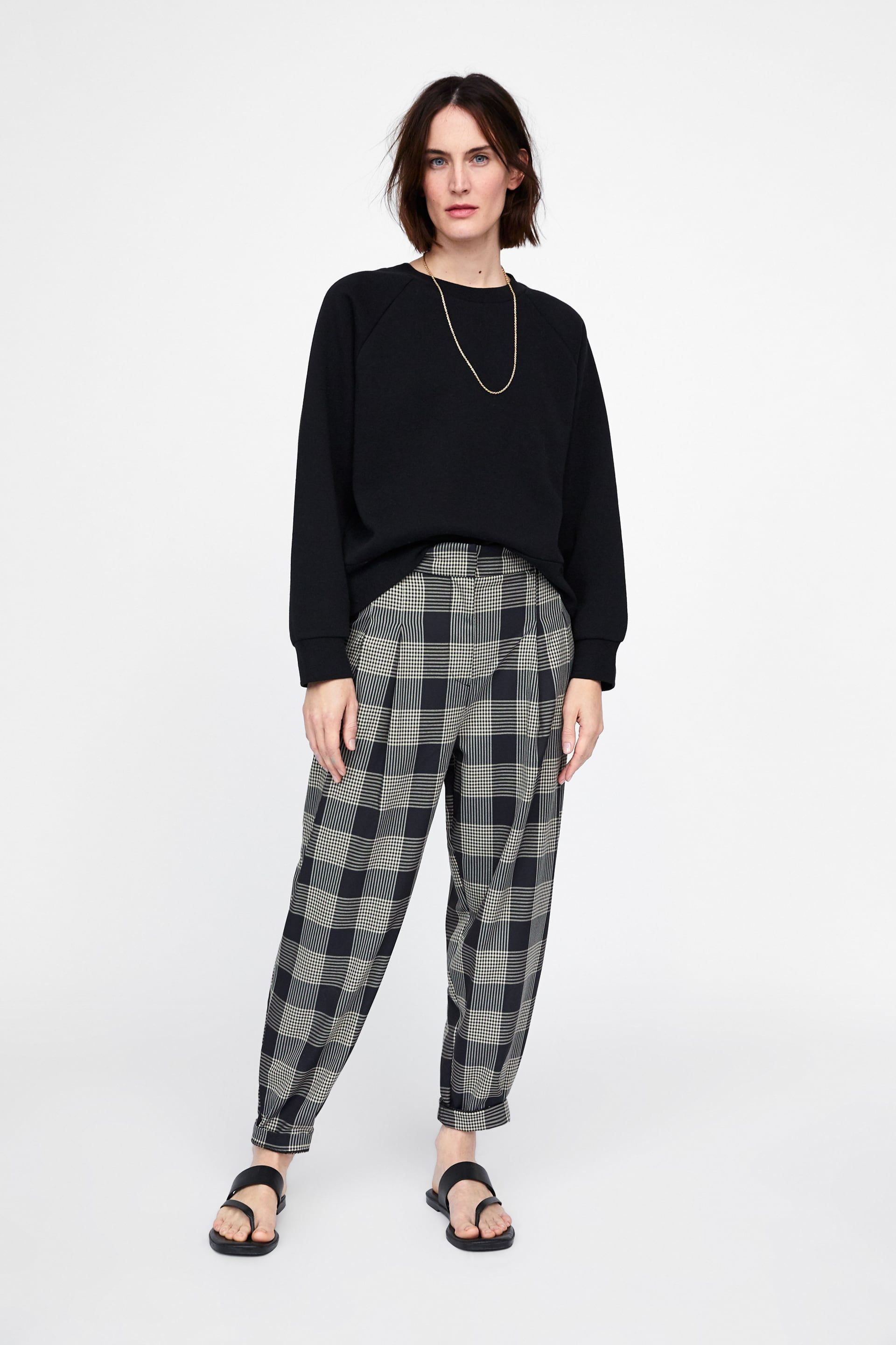 ac3c4a58 Slouchy check trousers in 2019 | Minimalism | Checked trousers ...