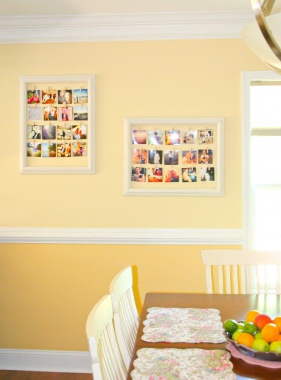 DIY Photo Frame Collage Project | Apartment ideas | Pinterest ...