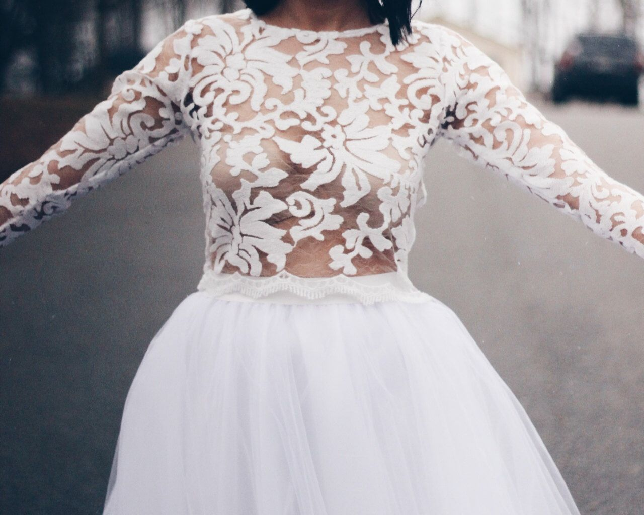 Lace Top, Wedding Top, Lace Wedding Top, Reception top, Bridal cover ...