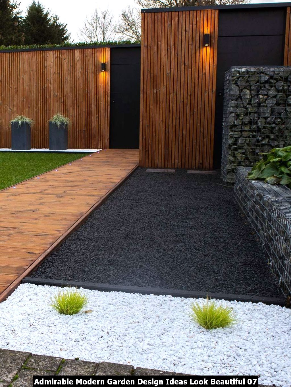 Admirable Modern Garden Design Ideas Look Beautiful Pimphomee Modern Backyard Landscaping Outdoor Gardens Design Modern Landscaping