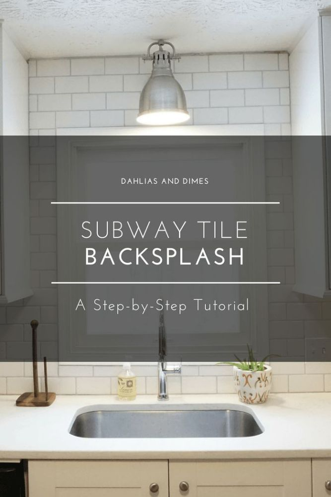 Simple Elegant [d]A backsplash is one of those elements that can take your kitchen to the next level It instantly makes a kitchen stand out when it s done right Luckily… In 2018 - Simple Elegant Diy Tile Backsplash Trending